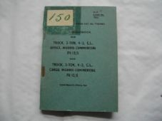 Morris Commercial, 4x2. CL. User handbook.